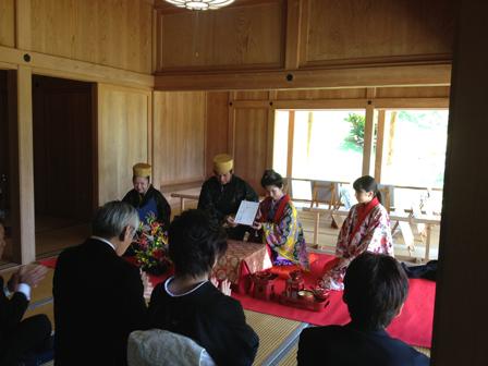 大石根さん結婚式1