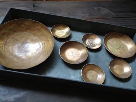真鍮小皿集合